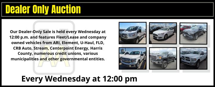 Dealer Auction Public Auction Buy Vehicles Sell Vehicles Houston Auto Auction