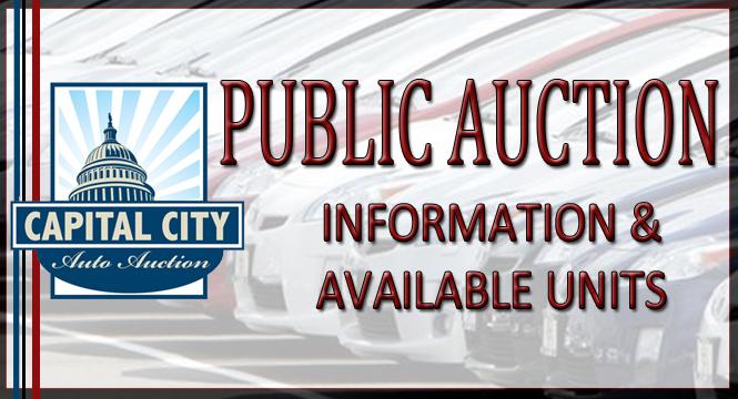 Capital City Auto >> Online Auctions Capital City Auto Auction