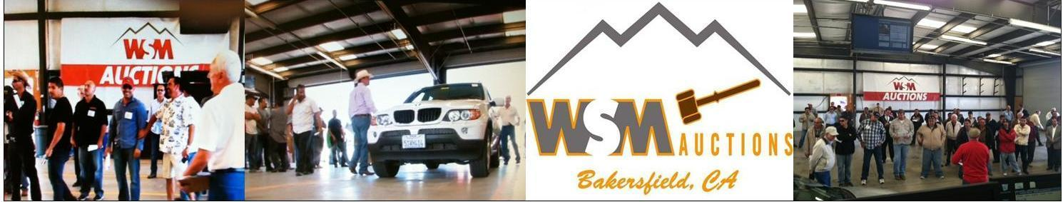 Bakersfield Auto Mall >> WSM Auctions