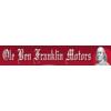 Ole Ben Franklin Motors logo