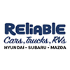 Reliable Imports and RV logo