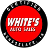 White's Auto Sales logo