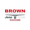 Brown Chrysler Jeep Ram Dodge logo
