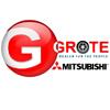 Grote Mitsubishi logo