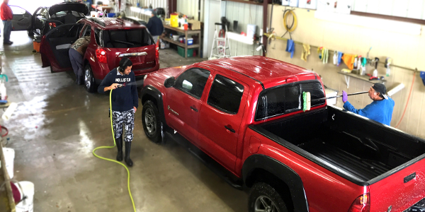 San Antonio Auto Auction Detailing Shop