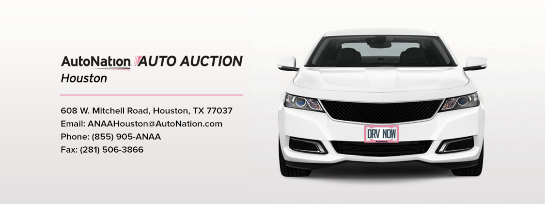 Location View Welcome Houston Autonation Auto Auctions