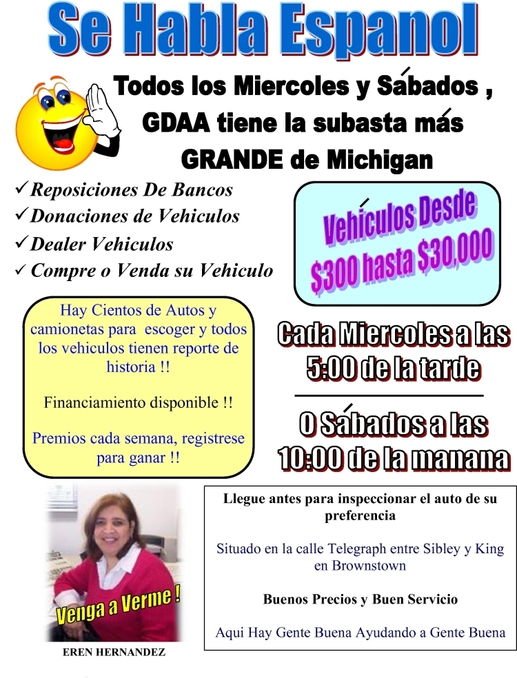 Greater Detroit Auto Auction >> Espanol Greater Detroit Auto Auction
